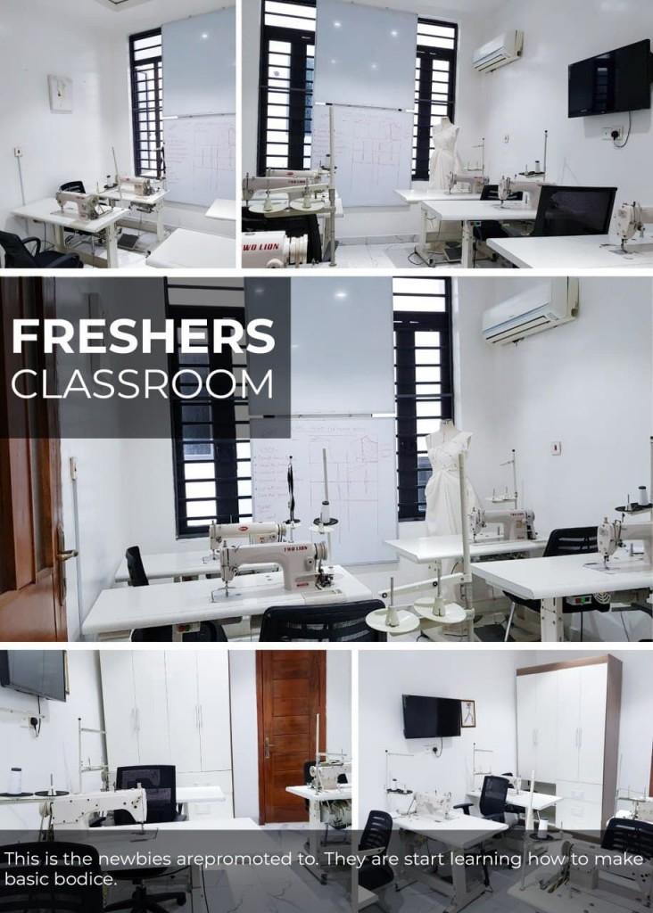 freshers classroom